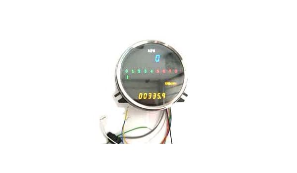 Harley Digital Electronic Sdometer with Tachometer ... on