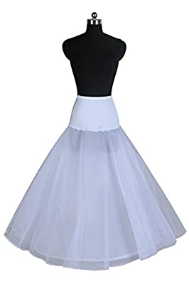 Ellames Women's A-line Bridal Petticoat Wedding Dress Slips Underskirt