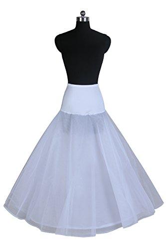 Ellames Women's A-line Bridal Petticoat Wedding Dress Slips Underskirt