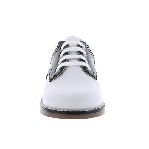 FootMates Unisex Cheer 3 (Infant/Toddler/Little Kid) White/Black Oxford 7.5 Toddler M/W by FOOTMATES (Image #4)