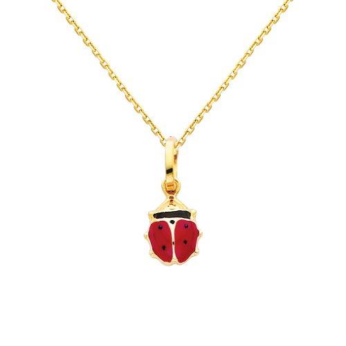 Quality Gold Ladybug Charm - 1