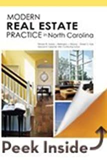 Modern Real Estate Practice In North Carolina 8th Edition Update