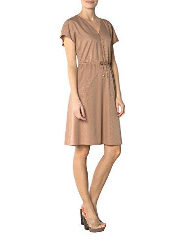 Damen Dress 36 Baumwollmix Kleid Gemustert Größe Beige Joop Farbe fRPxtdx