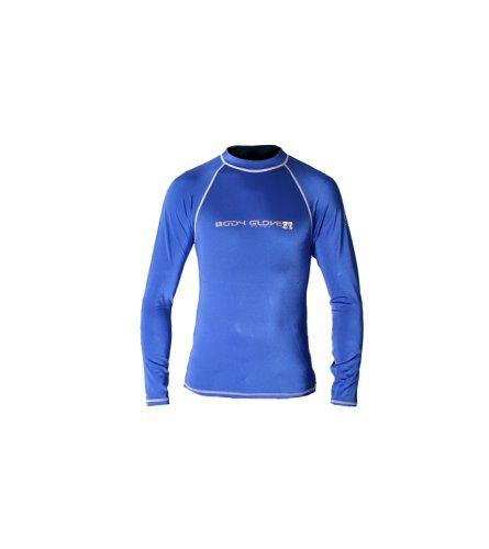 Body Glove Juniors Long Arm Lycra Rash Guard Shirt (Royal, 16/1X)