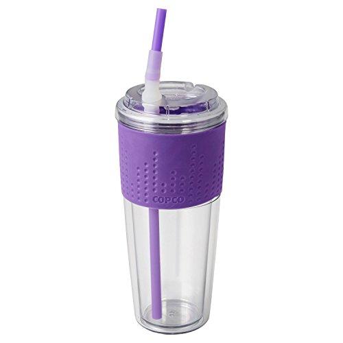 Copco Beverage Cold (Copco 2510-2147 Lock-N-Roll Tumbler, 20 oz, Purple)