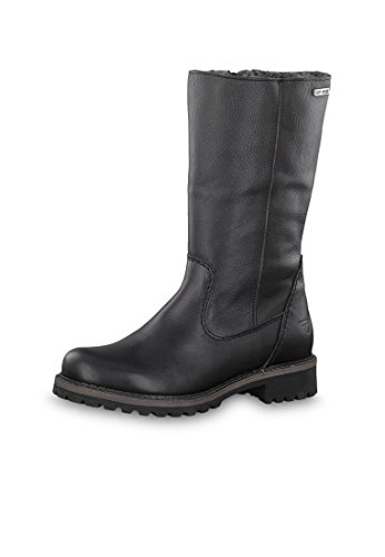 Cafe Boots 23 26432 Comb 385 1 Lined Reiterpotik In Tamaris Wool Winter Black qwRC6xfF