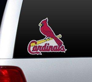 (MLB St. Louis Cardinals Die Cut Window Film)