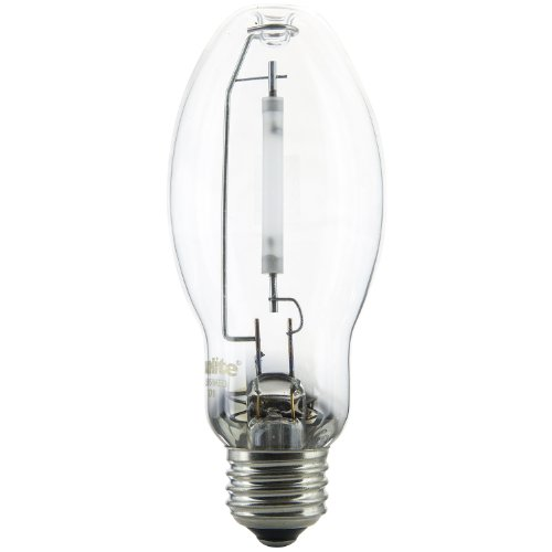 Sunlite 03605-SU LU50/MED 50 Watt HPS ED17 High Pressure Sodium Light Bulb, Medium Base, Clear