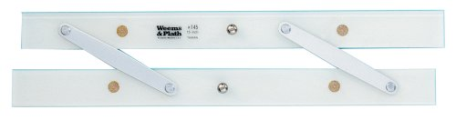 - Weems & Plath Marine Navigation Parallel Ruler Without Protractor Markings (15-Inch)