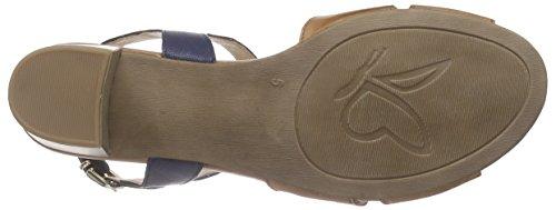 Caprice 28209 - Sandalias de tobillo Mujer Marrón - Braun (COGNAC/OCEAN 380)
