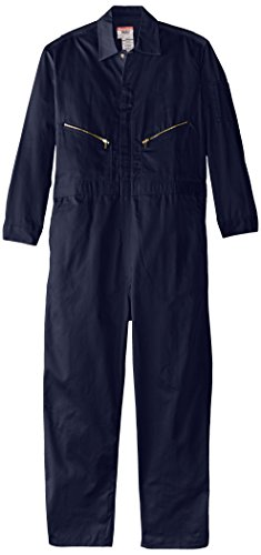 Walls Work Men's Long Sleeve Twill Coverall,Navy,40/Tall -
