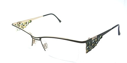 Cazal Rx Eyeglasses Frames 4170 003 52x16 Green Titanium Made in (Cazal Eyewear Mens Eyeglasses)