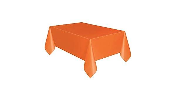 Manteles desechables rectangulares de plástico para picnic, fiestas de cumpleaños, camping, fiestas de Navidad, 53,9 x 107,8 pulgadas 137cmx274cm ...