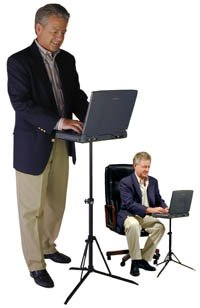 insTand CR3 Portable Laptop Stand for Standing or Sitting by insTand