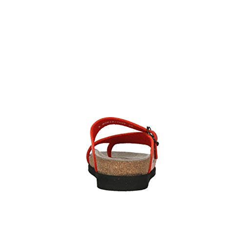 Helen Cero Womens Leather Rojo Sandals Mephisto 56z0wq5