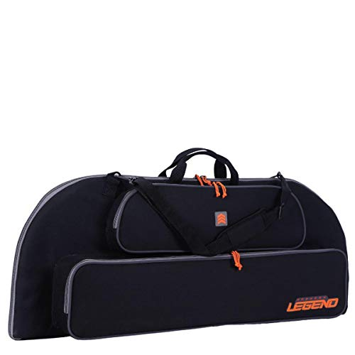 Legend Archery Bowarmor 116 Compound Bow Case - Shoulder Strap, Soft Tricot and Foam Padding - Inside Length 45