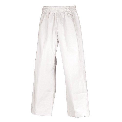 Heavyweight Karate Pants - Karate Uniform 100% Cotton White Heavy Weight (Pants Only) #7 (Big & Tall)