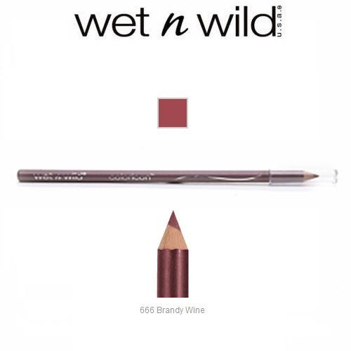 3 Pack Wet n Wild Beauty Color Icon Lipliner 666 Brandy Wine