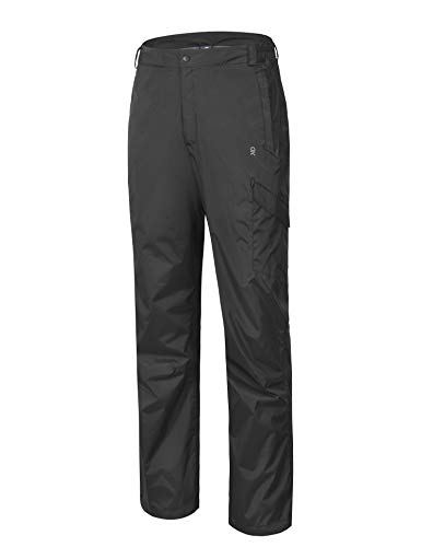 Little Donkey Andy Men's Lightweight Waterproof Breathable Rain Pant Black Size S