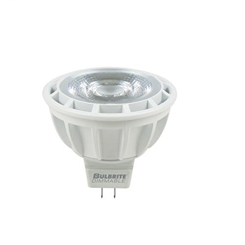 Bulbrite 771328 9W  Dimmable Mr16 Light Bulb, 3000K, Gu5.3 Basesoft White 75 Watt Maximum Mr16 Lamp