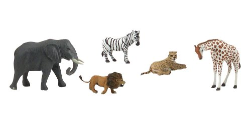 Woodland Scenics Scene-A-Rama Scene Setters African Wildlife