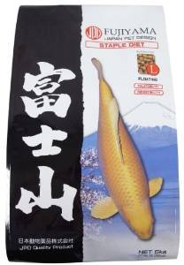 Fujiyama Staple Diet - Koi Food - 5 Kgs - Large - Quality Japan Koi High