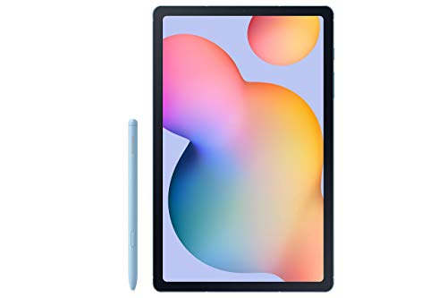 "Samsung Galaxy Tab S6 Lite 10.4"", 128GB WiFi Tablet Angora Blue - SM-P610NZBEXAR - S Pen Included (Renewed)"