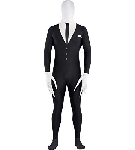 Amscan Adult Slender-Man Partysuit - Large (up to 5' 10