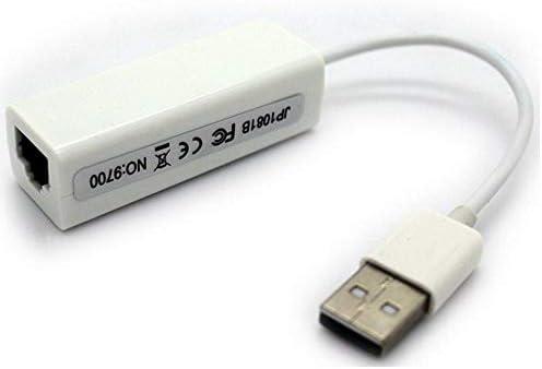 100Mbps USB a RJ45 LAN Tarjeta de Red Tarjeta de Red USB Convertidores de Red Silverdrew Adaptador Ethernet USB 2.0 10