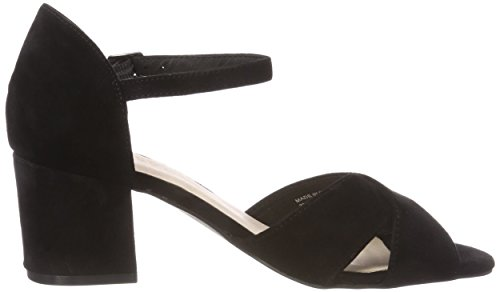 Bianco Front Cross Sandal, Women's Heels Sandals Black (Black 10)
