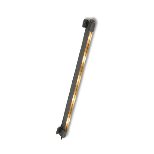 Westek SL30LB 30-Inch Plug-In Incandescent Strip Light, Black