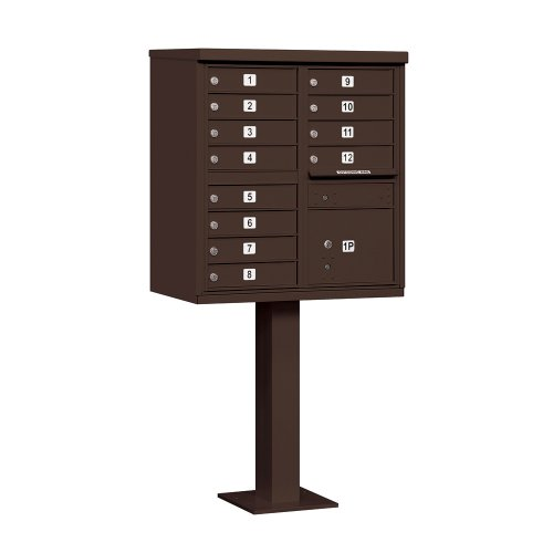 salsbury-industries-3312brz-u-type-ii-cluster-box-unit-with-12-a-size-doors-bronze