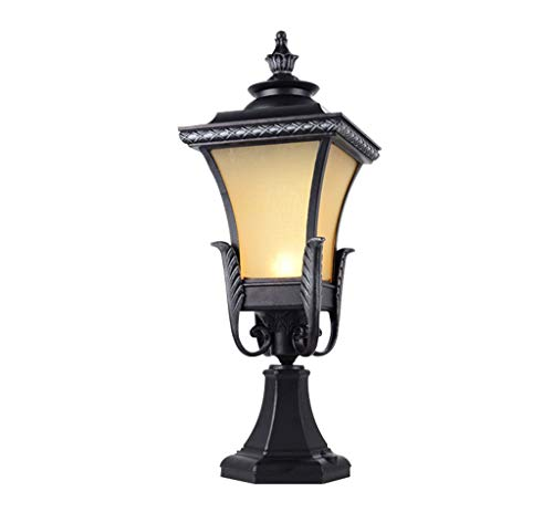 (XQY Novely Chandeliers-Chandelier+Pendant Light+Wall Lamp+Column Lamp Outdoor Waterproof Aluminum Lamp Body Glass Shade, Creative Decorative Lighting/Col)
