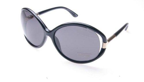 Tom Ford FT0124 Sandrine Des lunettes de soleil Noir 01B Femme