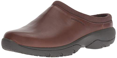 Merrell Men's Encore REXTON CHILL AC+ Clog, Dark Earth, 9 M US