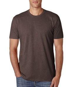 Next Level Apparel Men's CVC Crewneck Blended T-Shirt - Espresso - XX-Large
