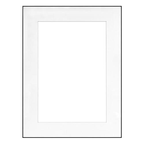 fineline picture frame color black size 18 x 24 frame 11 x 17 mat single. Black Bedroom Furniture Sets. Home Design Ideas