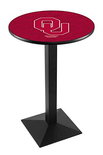 Holland Bar Stool L217B Oklahoma University Officially Licensed Pub Table, 28