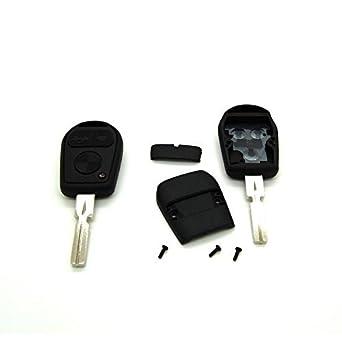 Carcasa para llave con mando a distancia para BMW X3 X5 Z3 Z4 E36 E38 E39 E46 (incluye llave virgen)