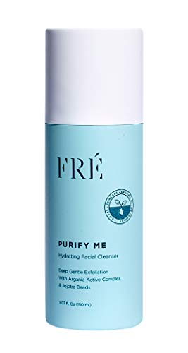 FRÉ Skincare Purify Me Hydrating Facial Cleanser - Deep Gentle Exfoliation - Provides Hydration and pH Balance Restoration 5.07 oz (Best Face Wash For Me)