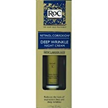 - RoC Retinol Correxion Deep Wrinkle Night Cream 1.1 fl. oz (33ml) by Retinol Correxion