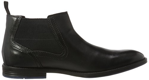 del Prangley Clarks Sistema Leather Uomo Classici Caricamenti Top Nero Black waF7Op