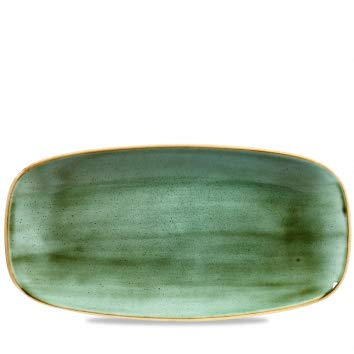 Choice of Colour Blueberry Churchill Stonecast Oblong Plate 29.8 x 15.3 cm