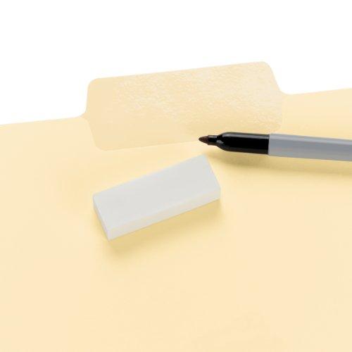 Smead Erasable SuperTab® File Folders, Erasable 1/3-Cut Tabs, Letter, Manila, 24 per Pack (10380) Photo #2