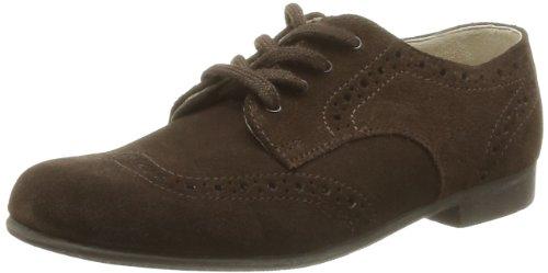 Start-Rite Charles, Zapatos de Cordones, Niños Marrón (Brown Suede)