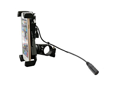Mobile Phone Holder with USB Charger for Mobility Scooters and Power Chairs from Cheelcare