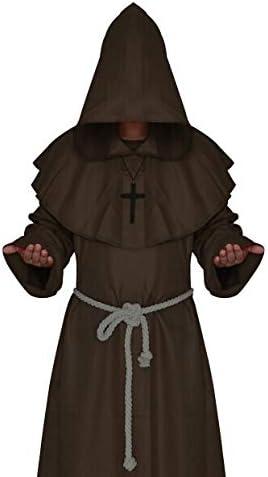 QZXCD Capa de Halloween Vestido Medieval Ropa de Hombre ...