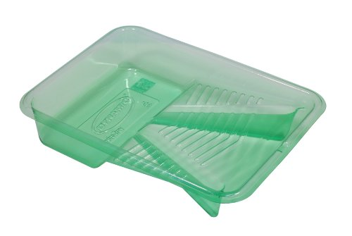Dynamic Enviro Paintware HZ020460 Enviro Recycled Plastic Delubye Paint Tray, 9-1/2-Inch, 2-Quart