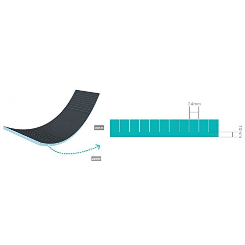 Panneau de construction Pr/éd/écoup/é 1250x600x30mm pour r/éaliser des arrondis extrud/é XPS