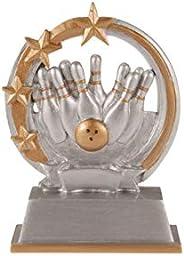 Resin Trophy Trophée Résine 5 1/8'' Bowling